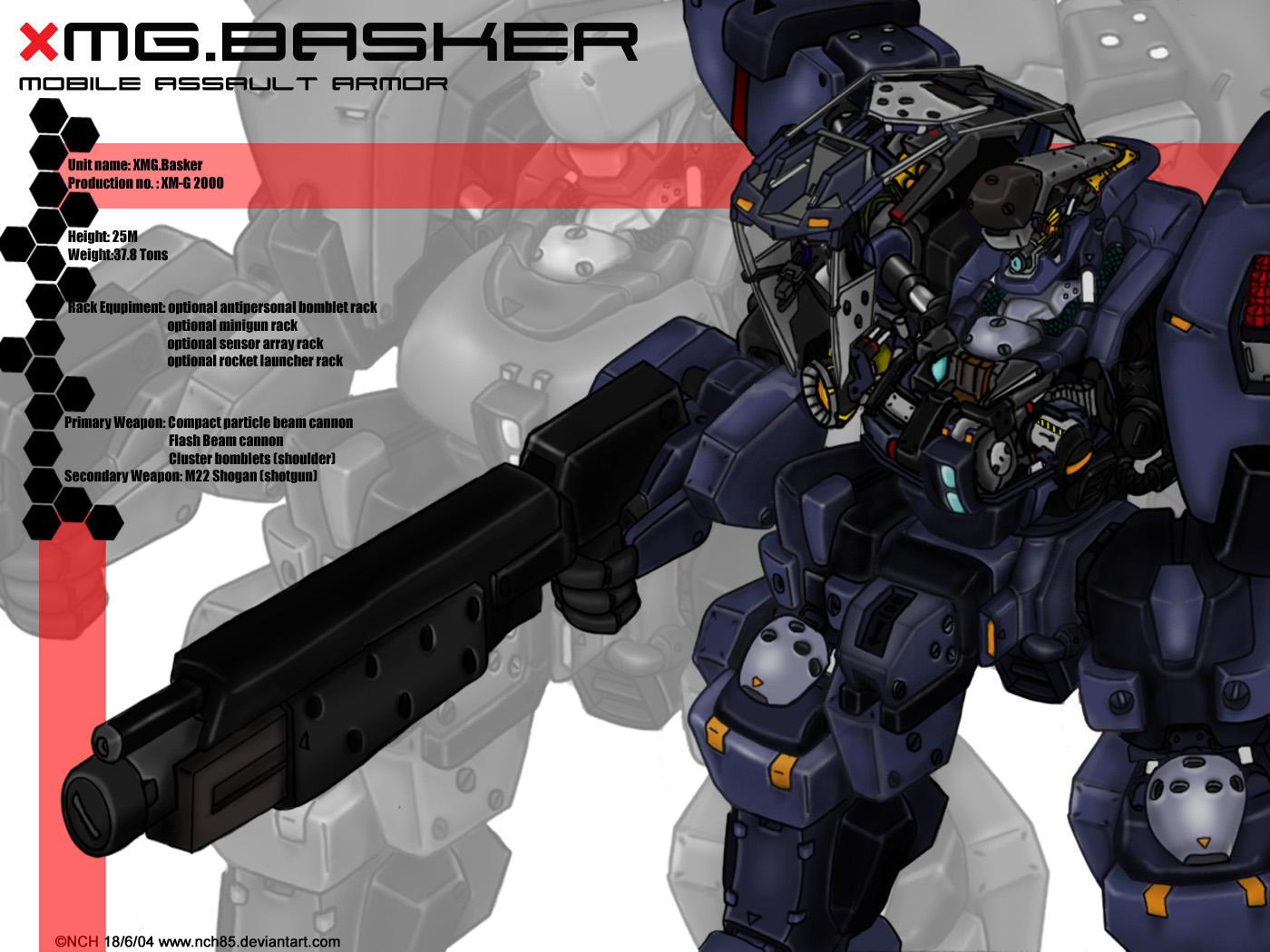 XMG basker wallpaper by NCH85