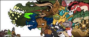 Monsters of Monster Hunter.