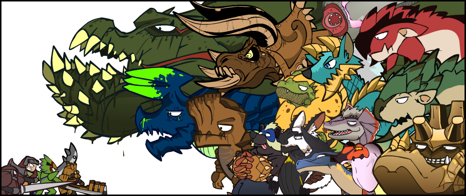 Monsters of Monster Hunter. by NCH85