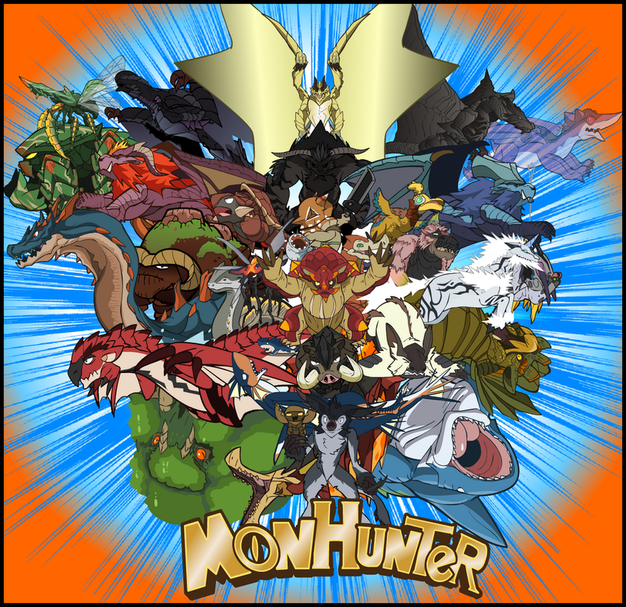 Monhunters! by NCH85