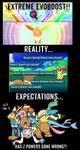 Extreme EvoBoost, Reality vs Expectations