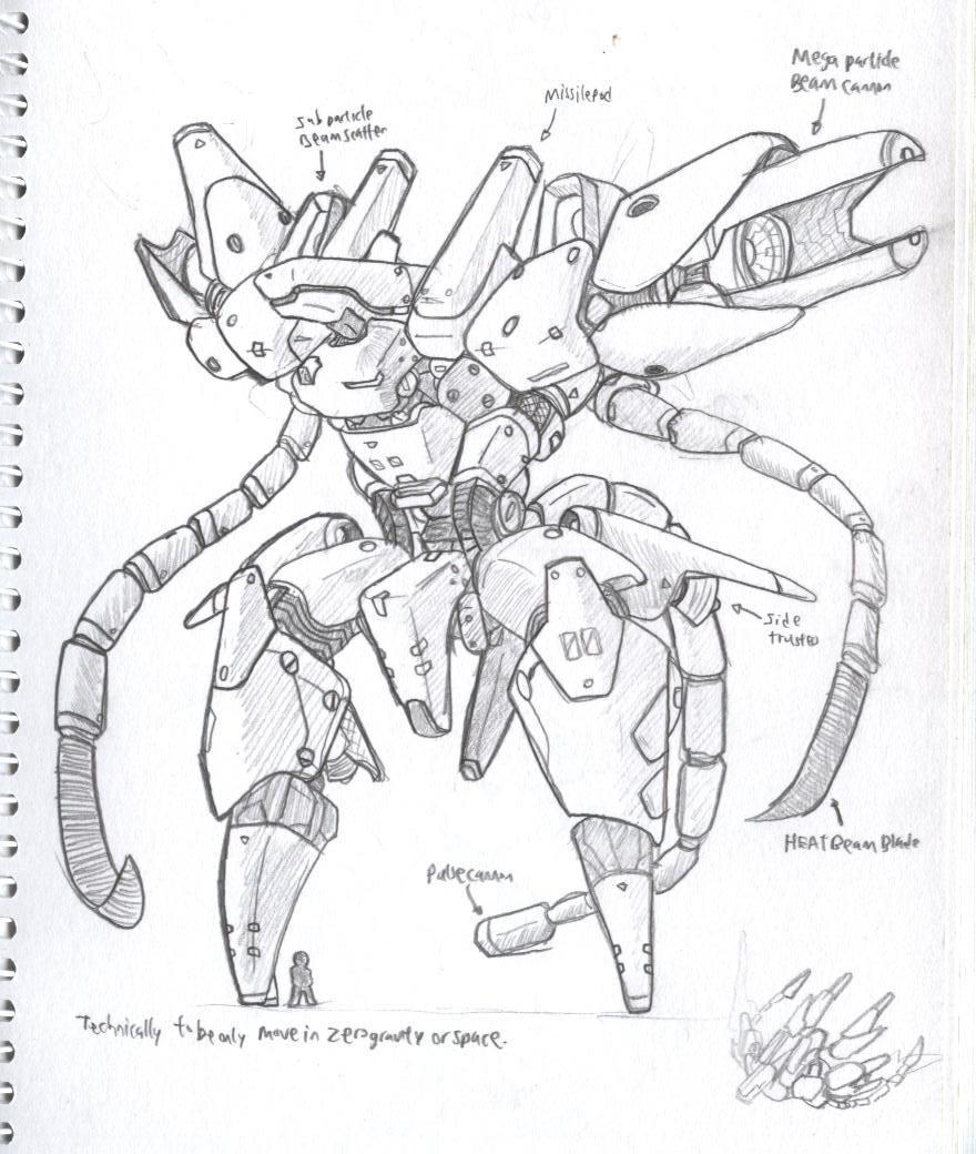 stuff i drew in army 3 by NCH85