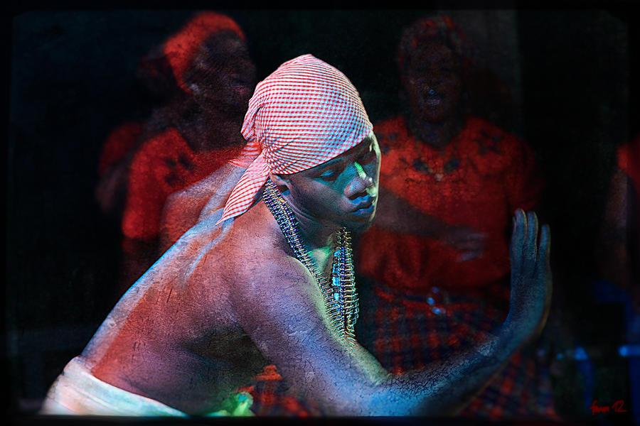 Garifuna Dancer by aviFerra