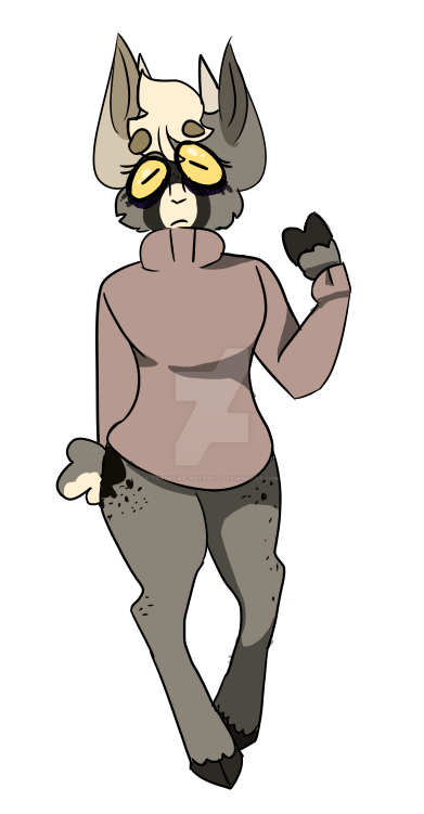 Idk What To Do With This Fursona-- by Trashcan-weeaboo