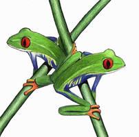 Exam-frogs by steelbanana