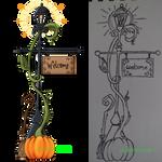 Traditional VS Digital 3: PumPumPumpkin Welcome
