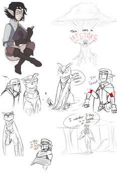 Dnd Doodles 1