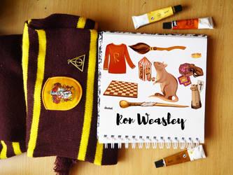 Ron Weasley in details