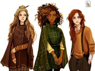 Witch gang by nastjastark