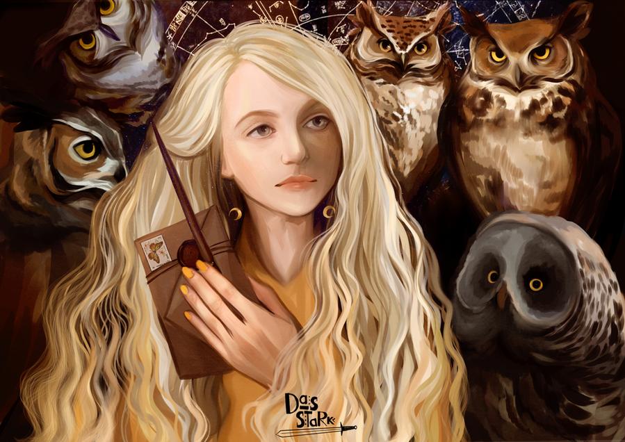 Luna Lovegood by nastjastark