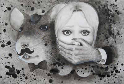 Fear. Mr Rat by AlffiSky