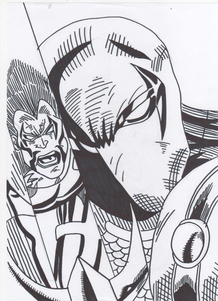 Deathstroke vs Lobo by RyanFabio894 on DeviantArt
