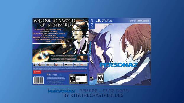 Persona 2 Remake PS4 Concept Case