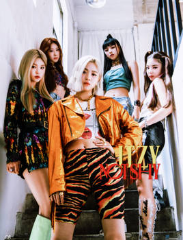 Itzy Not Shy Poster