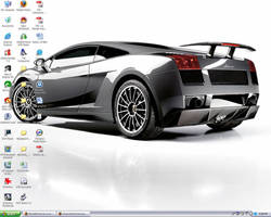 My Current Desktop by BlueJellyForever