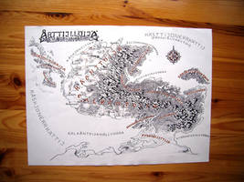Transscripted native language map of Athil'oria