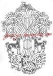 Yggdrasil Tattoo commission
