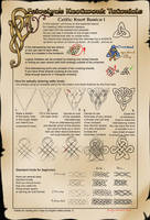 Celtic Knot Tutorial: Basics I by Feivelyn