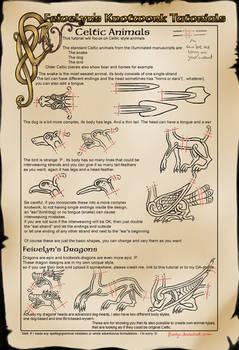 Celtic Knot Animals (Basics III)