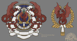 Imperial greater and lesser Coat of Arms