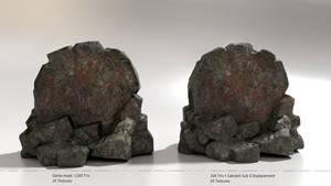 Fantasy Runestone: Stag vs Snake