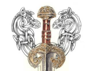 Rohan Sword by Feivelyn