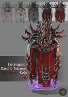 Extravagant Daedric Telvanni Robe concept by Feivelyn