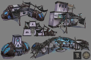 Dres Houses Concepts by Feivelyn