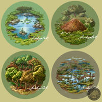 more terrain tiles by Feivelyn