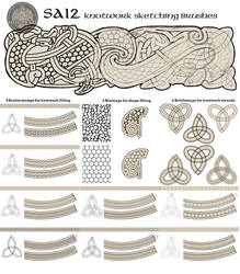 Feivelyn's SAI2 Knotwork brushes