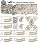 Feivelyn's SAI2 Knotwork brushes by Feivelyn