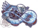 Blue Dragon knot