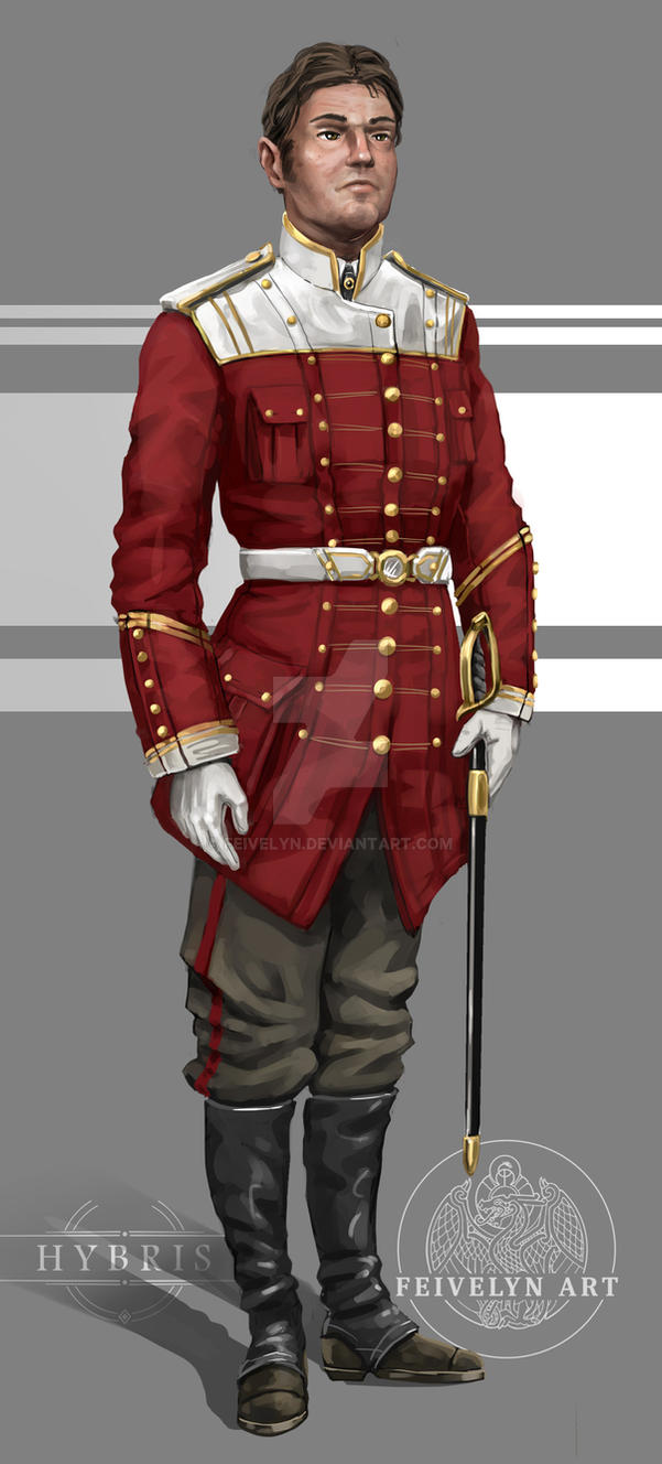 Imperial Colonial Forces Officer