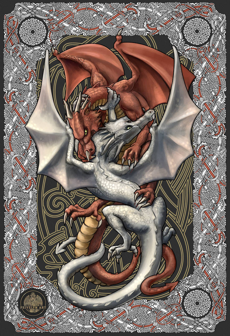 Legend of the Red and the White Dragon