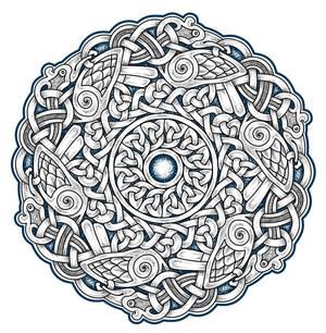 Celtic Circle of Birb