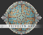 Celtic Snakes by Feivelyn