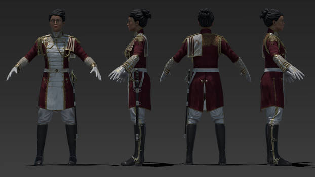 Colonial Administratior - Realtime Character Model