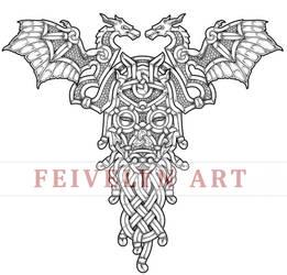 Dragon Priest Tattoo design