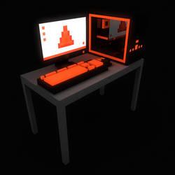 Orange PC by DarkPro1337