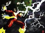 Shazam All star Captain Marvel origin Spread