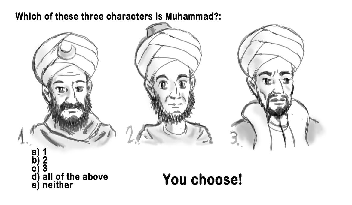 Draw Muhammad day 2015 by Ziggyman