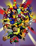 Fawcett's Legion of Super-Heroes by Ziggyman