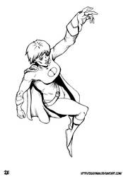 Powergirl 2021 Lineart