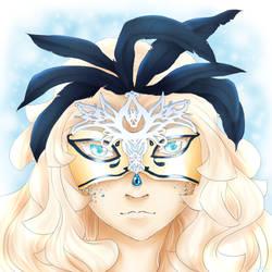 GC: Cerise mask fullview by Katarya