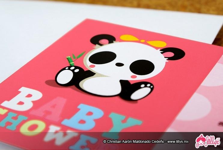 Panda   Baby Shower Invitation By Lillysmx ...