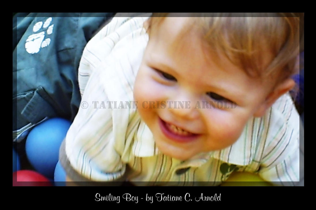 Smiling Boy I by tati-cris