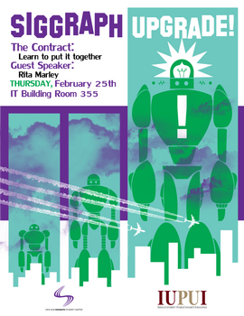 SIGGRAPH: Event Flyer