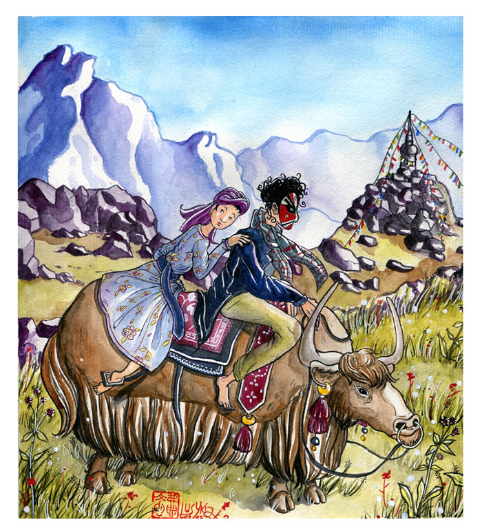 Himalayan ride by Lusykia