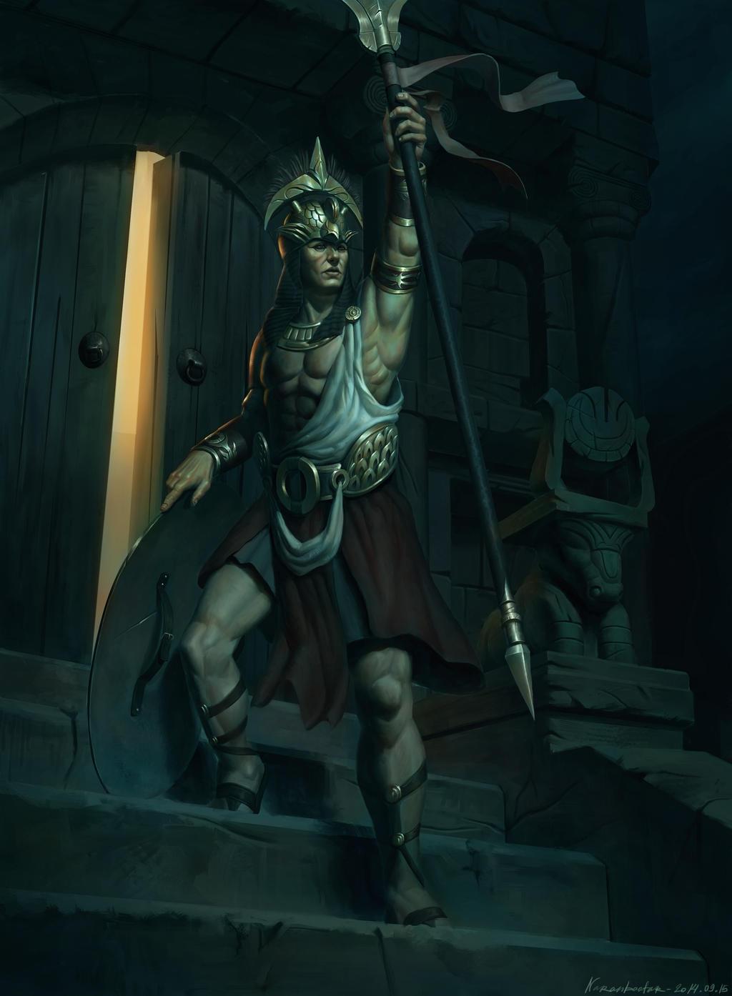Atlantean champion by Naranb on DeviantArt