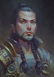 Lord Timur portrait by Naranb